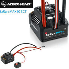 Hobbywing EZRUN MAX10 120A SCT Waterproof Brushless ESC for 1/10 RC Car Truck
