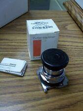 Cutler-Hammer Push Button Oper. 10250T121 Mushroom Head Black **NEW**