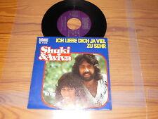 SHUKI & AVIVA - ICH LIEBE DICH JA / GERMANY VINYL 7'' SINGLE MINT- 1976