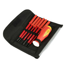 Insulated Screwdriver Set 7 Piece Interchangable Blades With Strong Magnetic