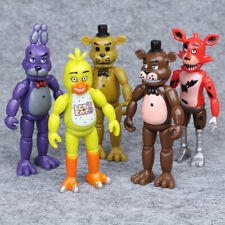 "5 pcs Five Nights at Freddy's Bunnie Game 6"" Toys Action Figures Party Toys Used"