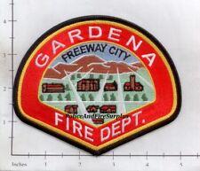 California - Gardena CA Fire Dept Patch - Freeway City
