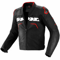 Spidi Evo Rider Motorcycle Jacket Black / Red 598966 Size XL