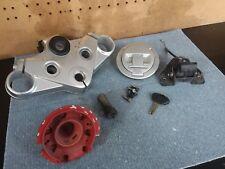13 2013 BMW F800GT Lock Set Ignition Switch Cap And Key