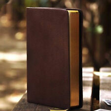 Brown Blank Diaries Journals Notebook Note Book Vintage PU Leather Cover