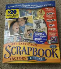 Art Explosion Scrapbook Factory Deluxe 2.0 - New