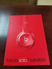 Beats by dre solo 2 wireless red