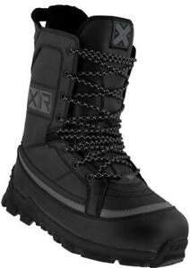 FXR TRANSFER BOOT - BLACK -  SNOW Snowmobile Winter BOOTS - Size 9 or 10  - NEW