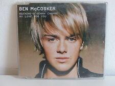 CD 4 titres BEN MCCOSKER Nothing's gonna change my love for you 0134955ERE