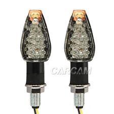 A Pair Dual Sport Turn Signal Light for Yamaha YZF R1 R6 FZ FJ XT WR TW TT-R