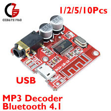 Lot 1/2/5Pcs USB Mini Bluetooth 4.1 Audio Receiver MP3 Decoder Amplifier Board