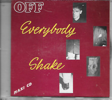OFF - Everybody shake CD SINGLE 3TR New Beat 1988 Germany (CUTTED SLEEVE!!)