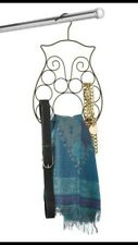Owl Scarf and Belt Hanger ~ metal ~ Fast Free Shipping