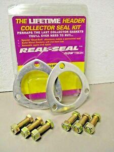 "2-1/2"" Reusable Aluminium Exhaust Flange Gaskets For 2.5"" Header Collectors USA"