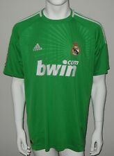 Real Madrid Adidas Football Goalkeeper Jersey Shirt Casillas Green 2010/2011 XL