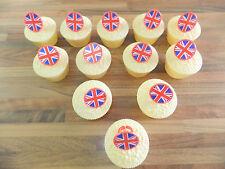 12 Union Jack Cupcake Rings Royal Wedding Celebrations