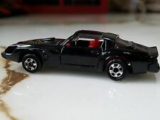 ZEE TOYS 70's PONTIAC FIREBIRD TRANS AM Black w Gold FIREBIRD on Hood Doors Open