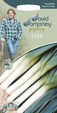 David Domoney Get Growing Leek Seeds