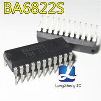 1pcs BA6822S Encapsulation:DIP-22,LED level meter driver,12-point,VU scale new