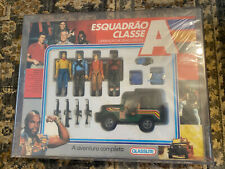 Vintage 1984 Glassite A-team Adventure Set, Red Label AFA 80, MISB MR. T