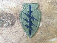RARE ORIGINAL VINTAGE US ARMY SURPLUS SPECIAL FORCES AIRBORNE ACU SHOULDER PATCH