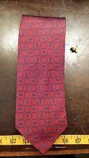 Stafford Red Blue Silk Designer Mens Necktie Free Shipping
