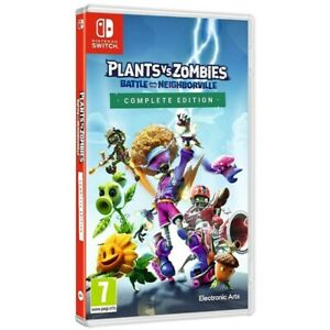 Plants vs. Zombies Nintendo Switch Battle for Neighborville Complete Edition