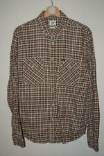 MENS RETRO MULTICOLOURED CHECK LEE WESTERN STYLE LONG SLEEVE SHIRT UK LARGE