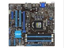 Intel Motherboard For ASUS LGA1155 B75 P8B75-M M-ATX DDR3 VGA+DVI USB 3.0 SATA3