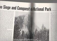 Yosemite Valley Locomobiles+El Capitan,Fisher,Ucker,Harvey,Miller,Curry