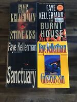 Lot Of 4 Faye Kellerman Hardcovers