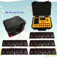 120 Cue Fireworks Firing System Balloon System 500M Remote ABS Waterproof Cas