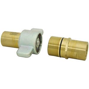"1-1/2"" NPT Brass Wing Nut Quick Coupler Horizon KST 9-12279"
