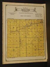 Minnesota Murray County Map Moulton Township 1926  W5#93