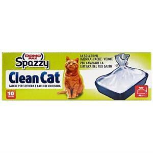 Domopak Spazzy Clean Cat Sacchi per Lettiera Gatti Buste per Lettiera Sacchetti