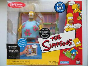 Playmates Toys Simpsons Kitchen Interactive Environment Muumuu Homer Simpson