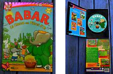 Jeu vidéo PC - Mac Babar, La chasse aux pièces d'or, Mindscape 2006,
