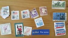 Lot 15 older stamps U.S. postage assorted 1970s maybe 20c 8c 10c