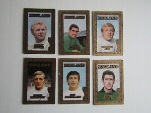 A&BC 1970 World Cup Footballers England   Card  Variants (ef7)