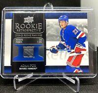 2020-21 Upper Deck Adam Fox ROOKIE Retrospective #RR-11 New York Rangers NYR RC