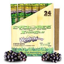 Cyclones Wonderberry XTRASLOW Hemp Wraps Box of 24