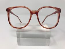 B.G.Dixie Sunglasses 50-18-140 Amber Clear Marble 5169
