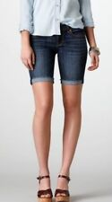 American Eagle Skinny Bermuda Low Rise Jean Shorts Sz 00 New With Tag's MSRP $59