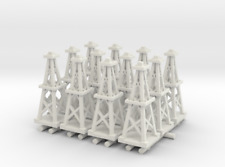 Axis & Allies Parts/Pieces (12) Custom 3D Printed Oil Derricks