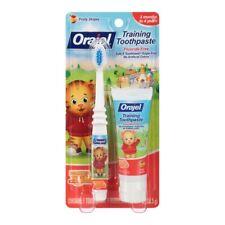 Orajel Daniel Tiger's Neighborhood 1 oz Fruity Training Toothpaste + Toothbrush