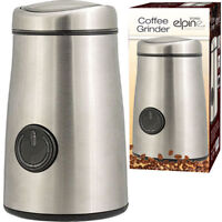 Electric Espresso Coffee Bean Nut  Spice Blade Grinder 150W- 50g Stainless Steel