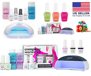 🎁Gelish Sunrise & Feel the Vibes Collection Gel Nail Kit with LED - Few Options