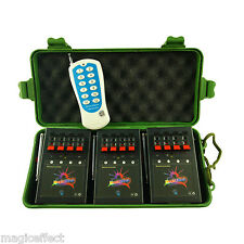 Profession Remote control 12 Cue Wireless Fireworks Firing system