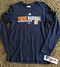 DETROIT TIGERS  MLB  BASEBALL TEE -  JERSEY BY  MAJESTIC YOUTH LARGE 14/16  NWTS