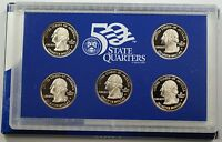 2004 United States State Quarters Proof Set GEM Coins In Box with COA